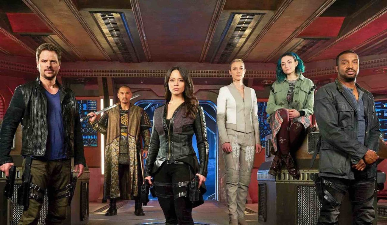 SyFy's epic 'Dark Matter' was canceled after the third season, leaving fans in perpetual uncertainty. Team Raza, here's how you can help.