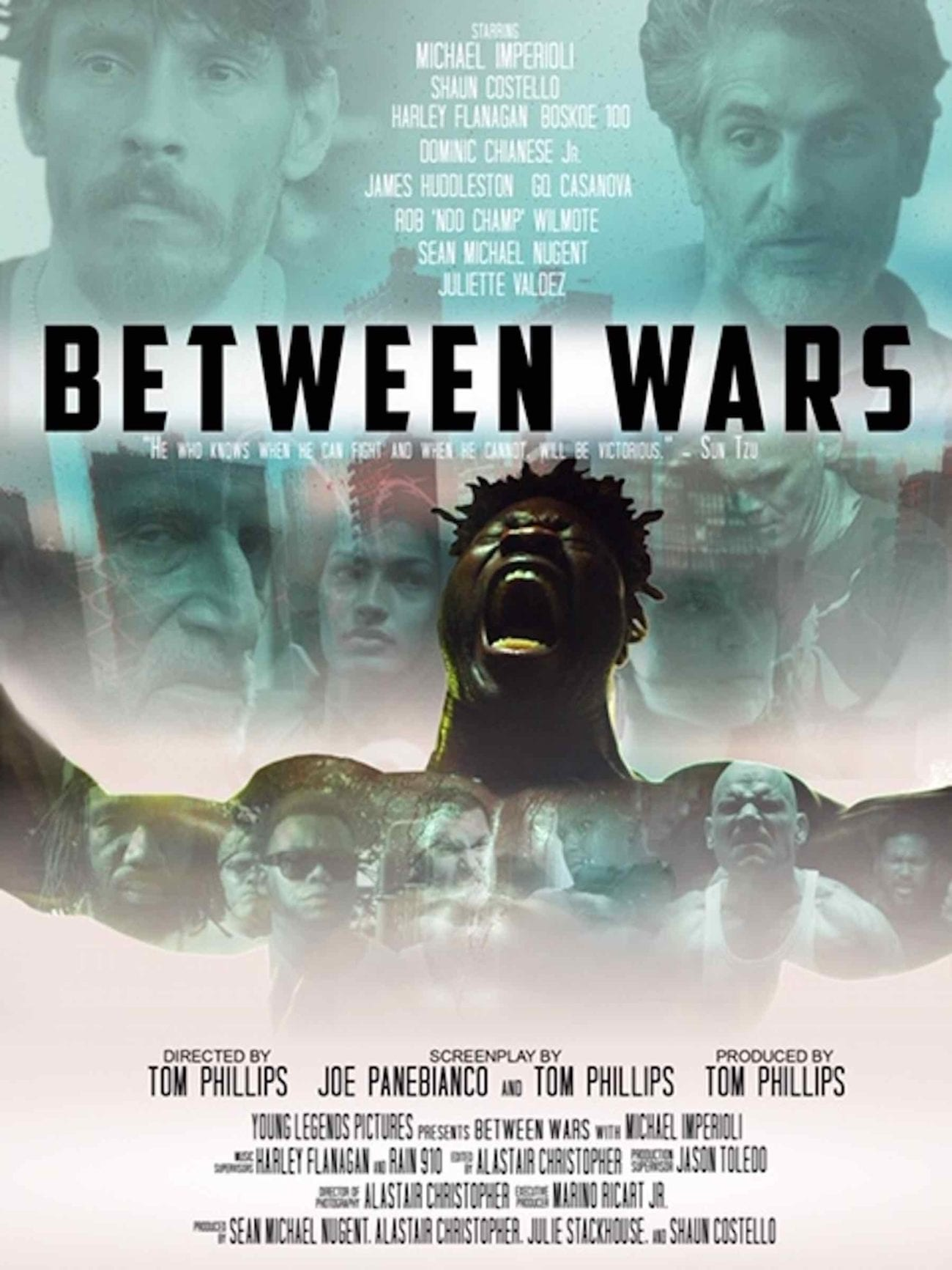 Harley Flanagan's star continues to rise with his role in 'Between Wars'. Here's our interview with punker Harley Flanagan.