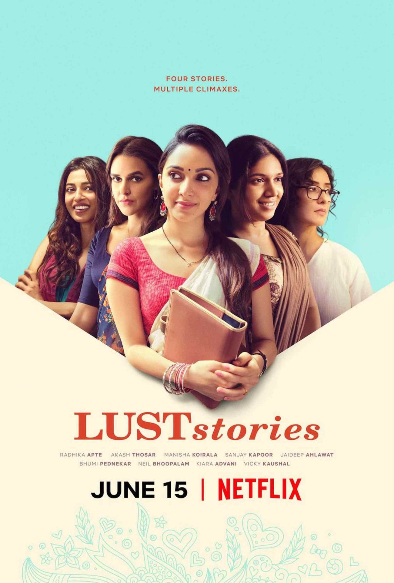 We at Film Daily have created this small guide on the themes and ideas discussed in each of these rich stories within Netflix's 'Lust Stories'.