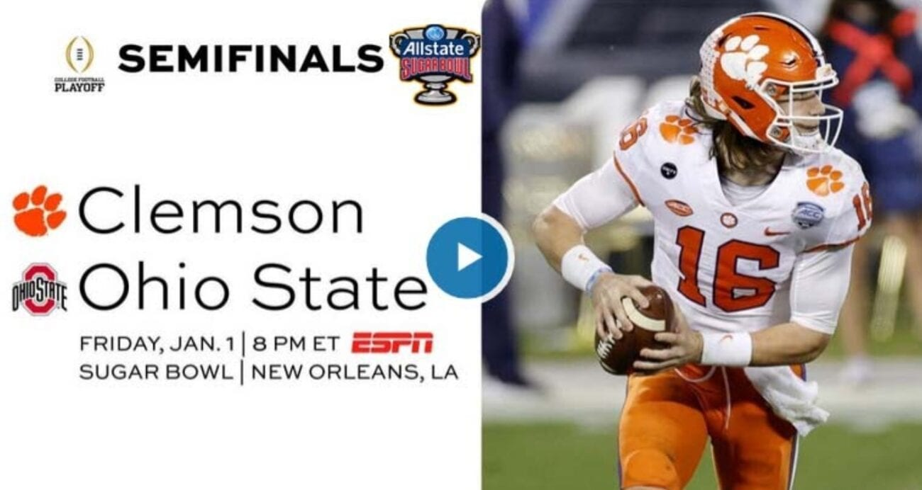 Clemson vs Ohio is set to be a thrilling Sugar Bowl. Find out how to live stream the game on Reddit for free.