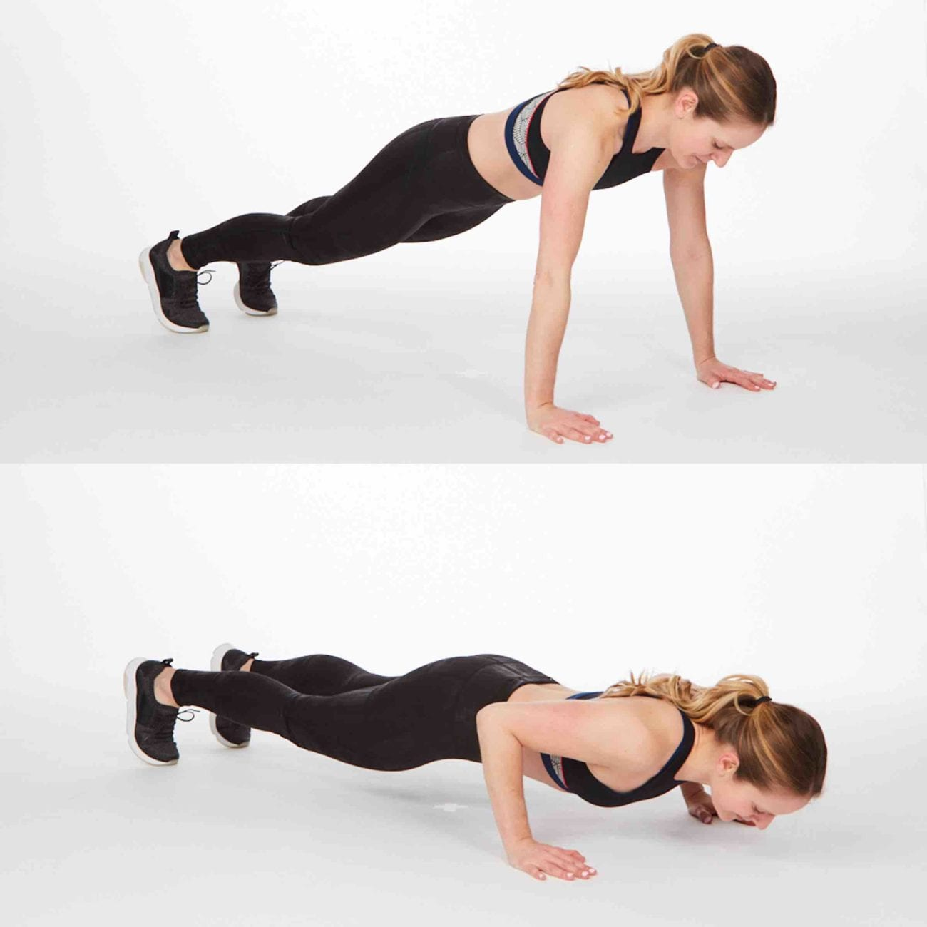 Stay fit while watching your favorite shows with these at-home plank workouts created by in-home and online personal trainer Jennifer Fidder.