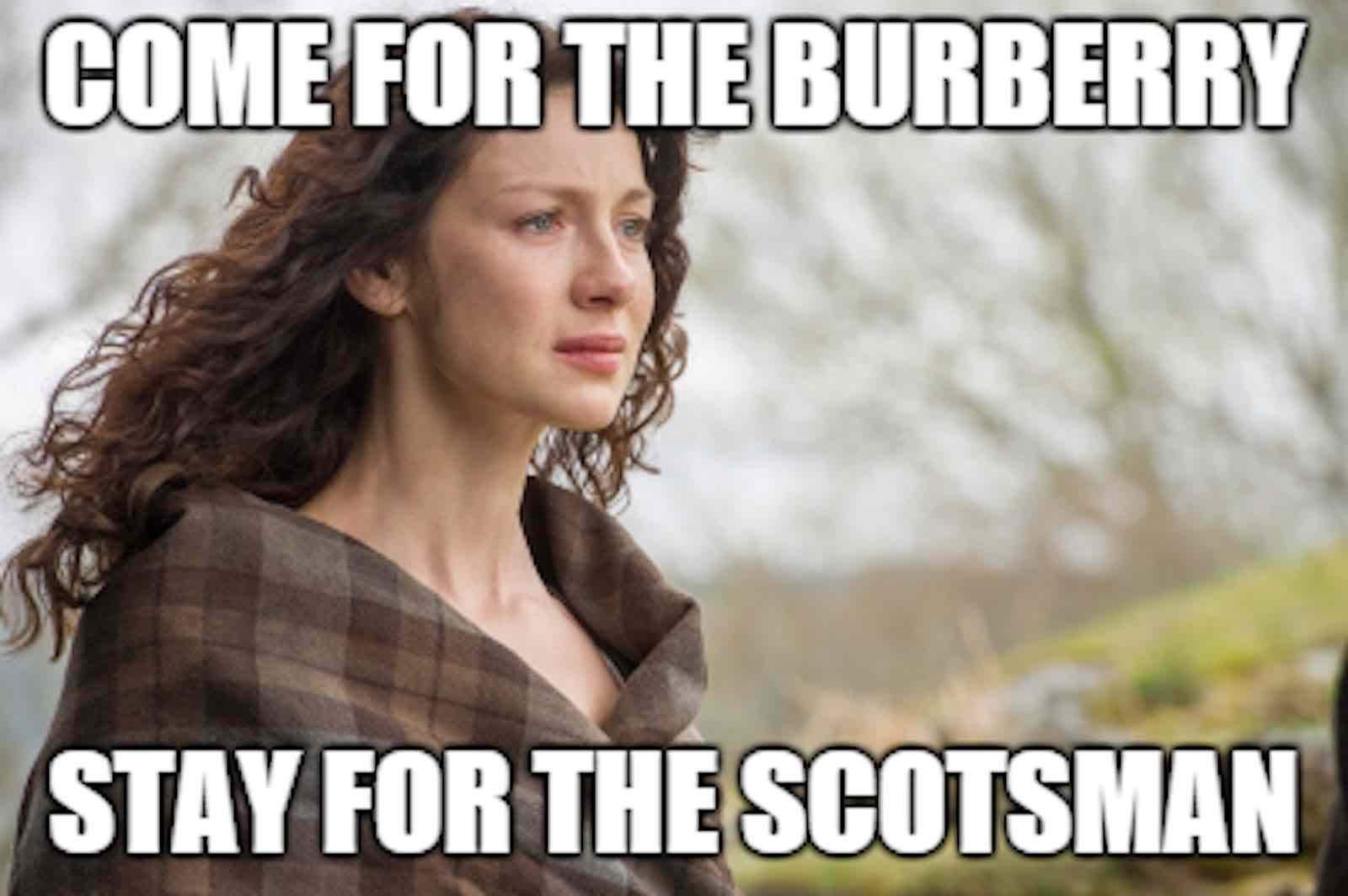 Outlander On Netflix The Best Memes On The Sexiest Scenes