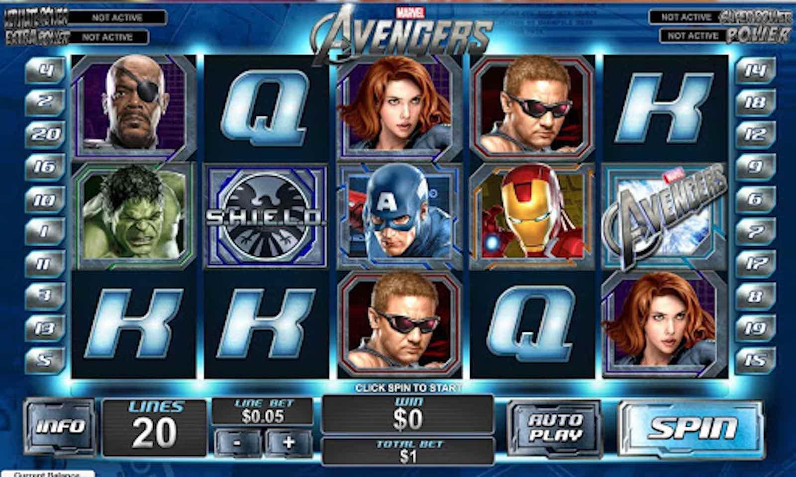 Movie Slot Machine