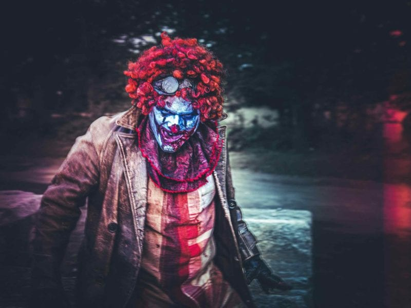 Let's activate all of your coulrophobia by going through the very worst from TV and film. Here's where you can find some terrifying killer clowns!
