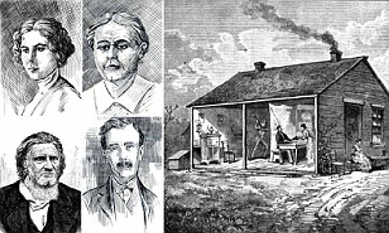 The family that kills together, stays together. At least in the case of the Bloody Benders, a family of killers from 1870's Kansas.