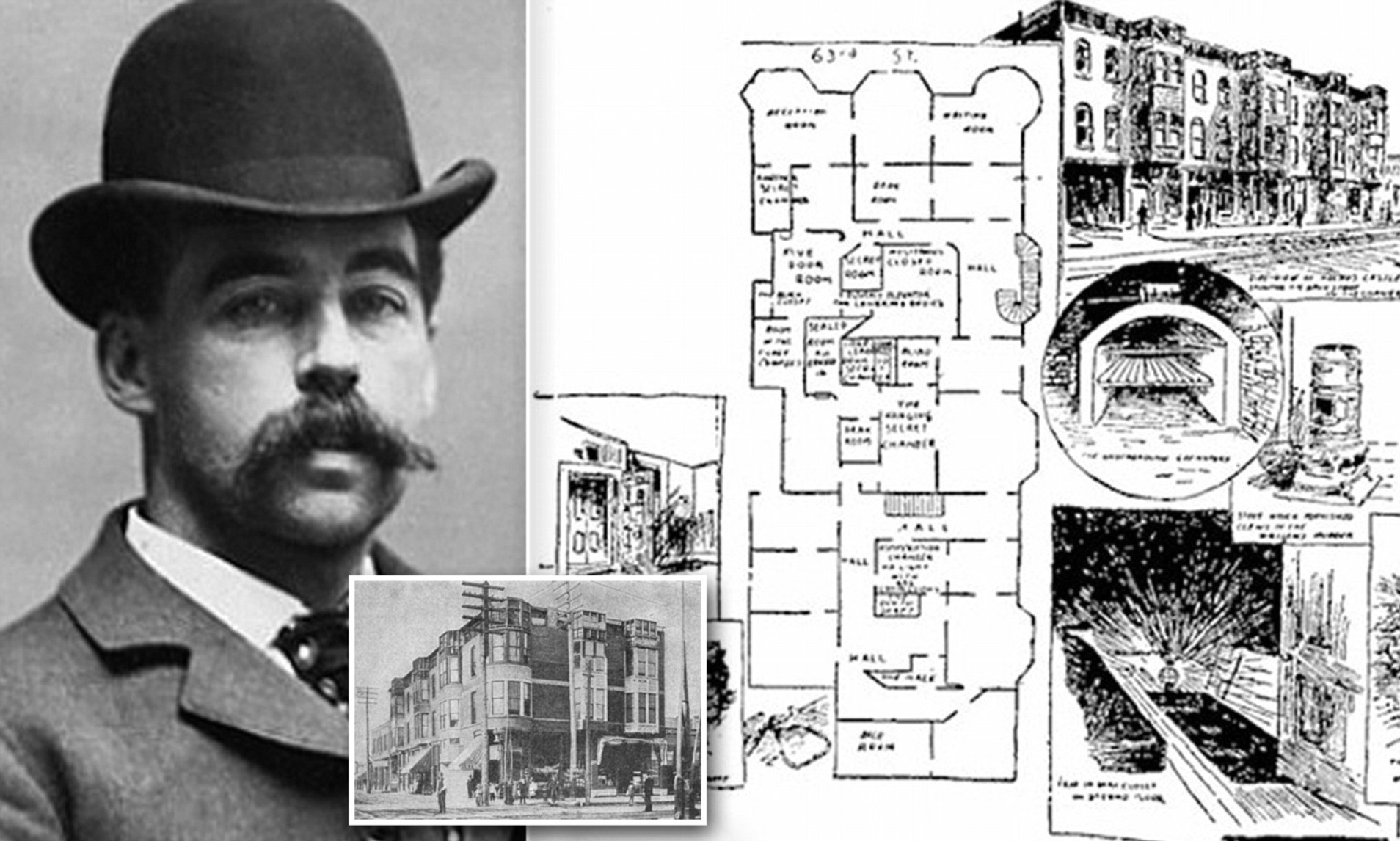 Inside The Murder Hotel H H Holmes Used To Lure And Torture His