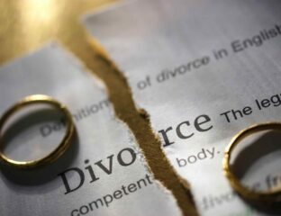 Many people going through divorce cannot reach an understanding with their partners and struggle to settle matters on their own. Here's why.