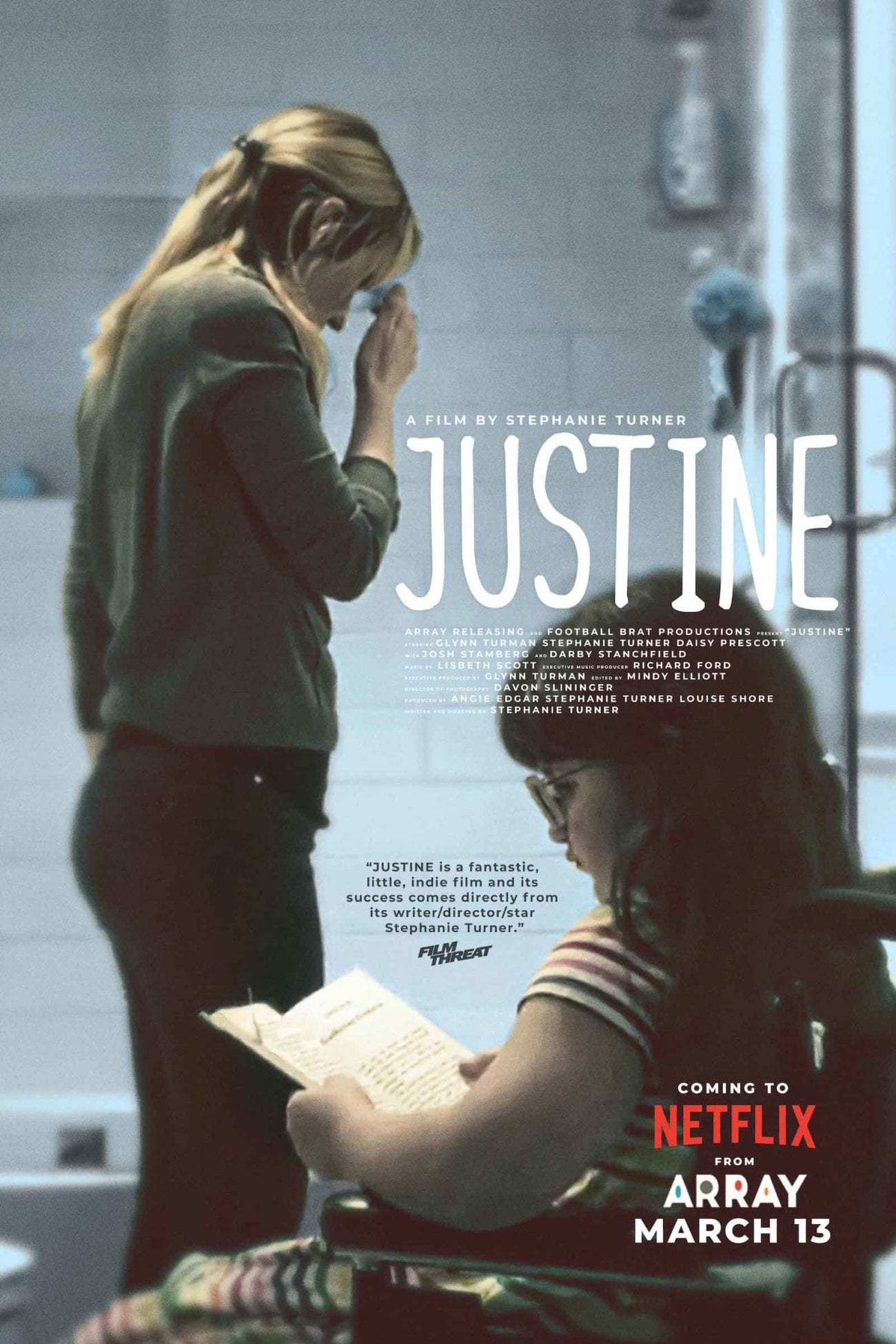 We were delighted to sit down with Stephanie Turner and talk cinema, creativity, and life. Here's what we know about Netflix's 'Justine'.