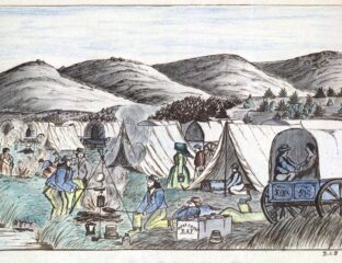 This may sound like some fictional old west adventure, but the Donner Party was a 20 wagon group. Here's the terrifying tale of the Donner Party.