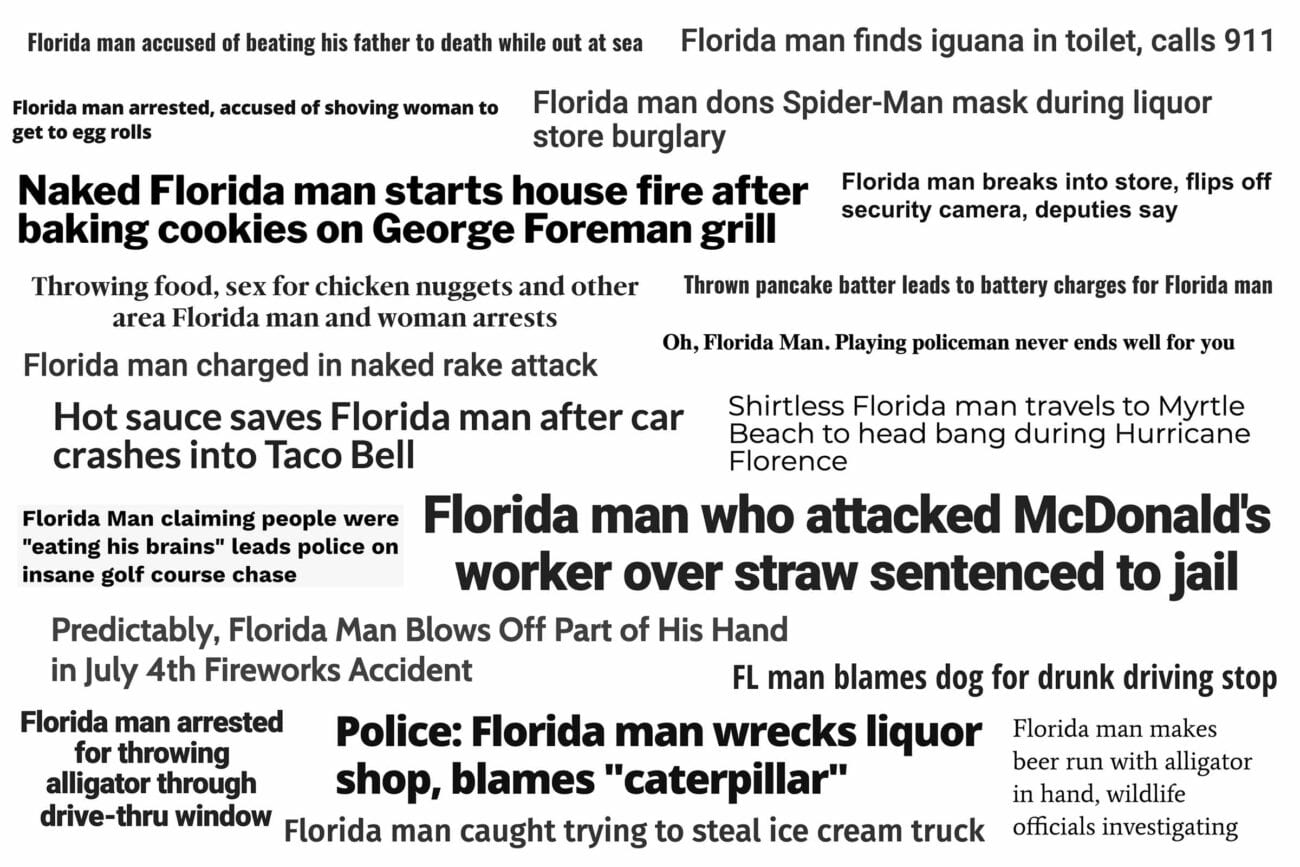 March 2020. A month that felt like its own decade. Relax and laugh at some of our favorite Florida Man memes.