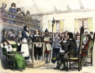 The Salem Witch Trials were a dark time in American history. Many innocent men and women were killed under the impression they practiced witchcraft.