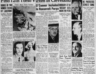 What's more terrifying than a serial killer? One that was never, ever caught. Here's the story of the Cleveland Torso Murderer.