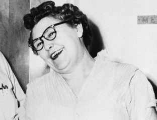 "Nannie Doss was a serial killer in the first half of the 20th century who earned the title ""The Giggling Nanny"