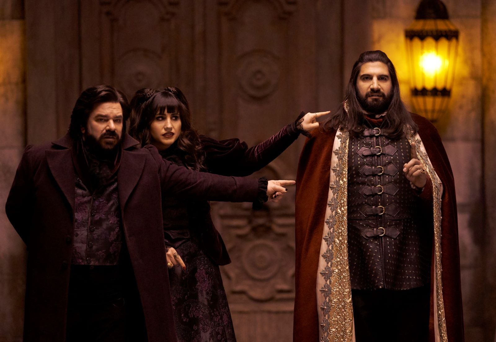 The vampire comedy from Taiki Watiti has been transformed into a black comedy for the ages. You need to be watching 'What we do in the Shadows' on FX.