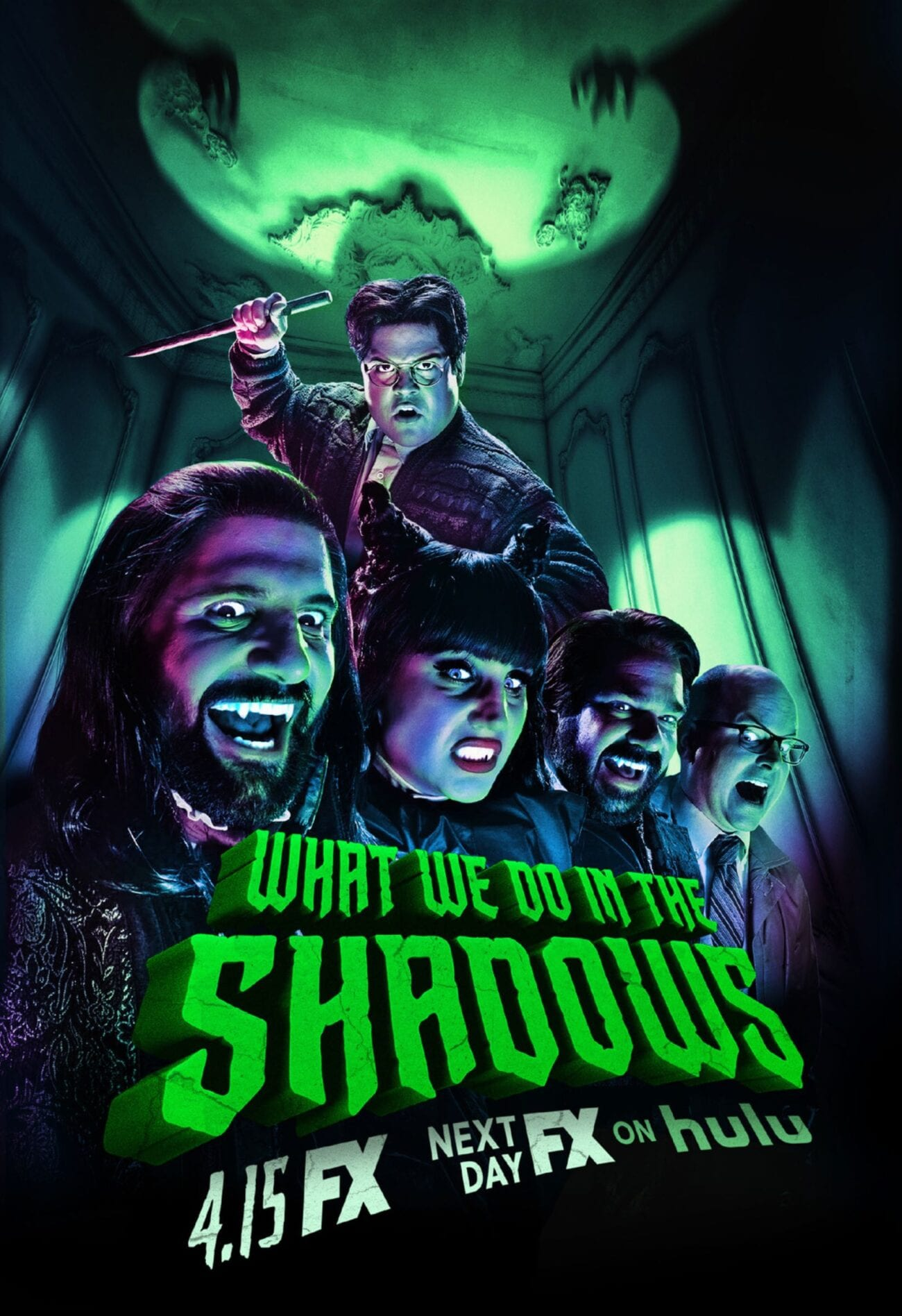 The vampire drama from Taiki Watiti has been transformed into a black comedy for the ages. You need to be watching 'What we do in the Shadows' on FX.