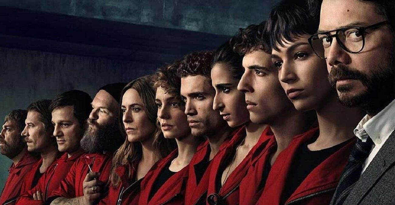 The cast of 'Money Heist' is sexy as can be, so it's no surprise there's a lot of sexy moments in the show.