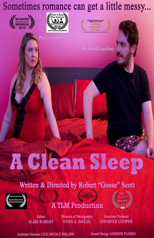 Robert Goose Scott has been telling stories across film and theater for years. But his latest short 'A Clean Sleep' is something special.