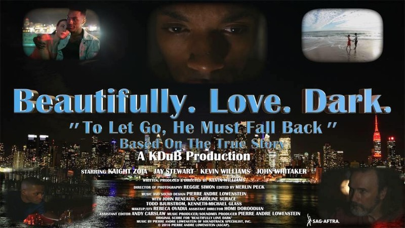 Kevin Williams is breaking onto the scene with extremely personal films. Learn more about what inspired him to create 'Beautifully. Love. Dark.'