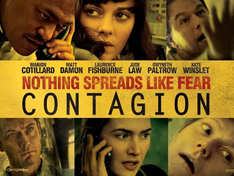 'Contagion' the movie, portrays just how quickly a deadly virus can spread, causing civil unrest in the streets. Here's why it's giving us hope.