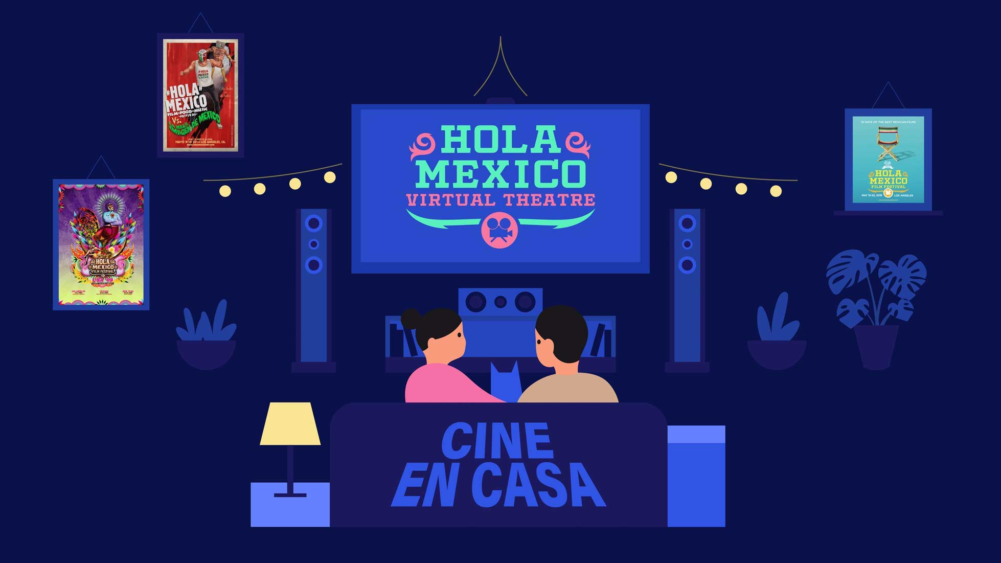 Hola Mexico Film Festival presents: Hola Mexico Virtual Theater – Film Daily
