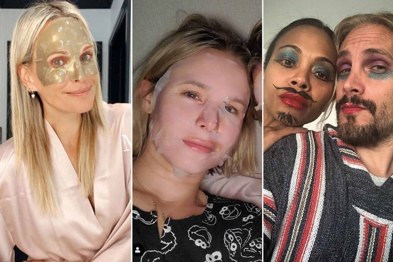 "Jonathan Van Ness said it best: ""Don't try new lewks during quarantine."" Of course, he nor these other celebrities listened to that advice."