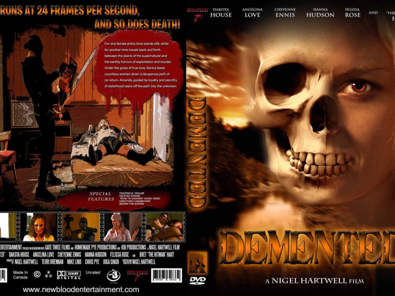 Filmmaker Nigel Hartwell, takes the twists and turns you know and flips them on their head with horror movie 'Demented'.