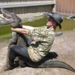 Florida Man is a different kind of animal, just like how Florida alligators are a different kind of alligator. But when the two collide, who wins?