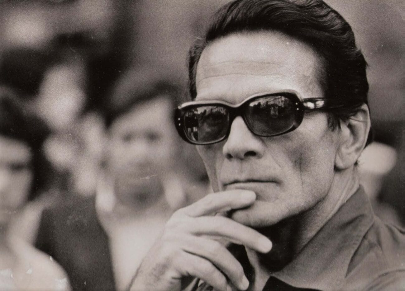Pier Paolo Pasolini made beautiful films like 'Arabian Nights' and 'The Canterbury Tales', but his messages of anti-fascism made him a target.