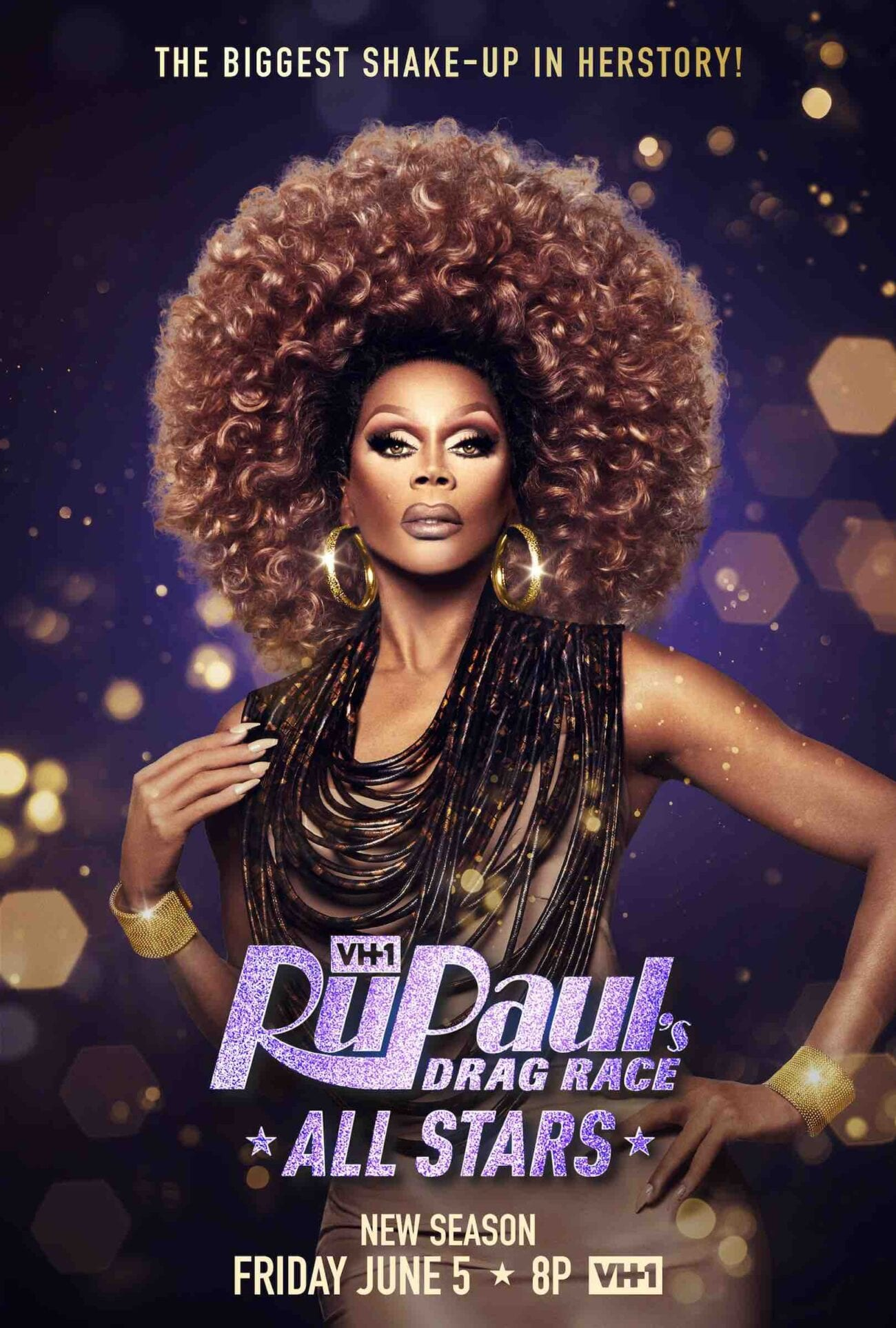 'Rupaul's Drag Race All Stars' season 5 is premiering on VH1 on June 5th, and we cannot wait to see redemption for these queens.