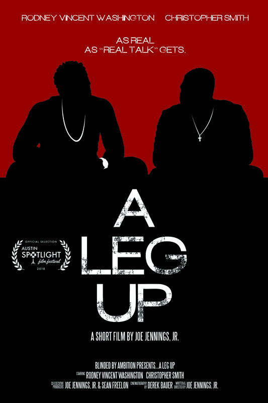 Joe Jennings Jr.'s latest short film 'A Leg Up' hits home in its honest depiction of father and son discussing race in America. It's a must watch for all.