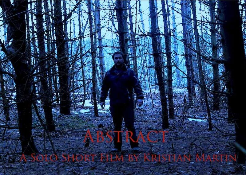 Kristian Martin has never been afraid of a challenge in his filmmaking. But 'Abstract' is now the most ambitious project to date for the indie director.