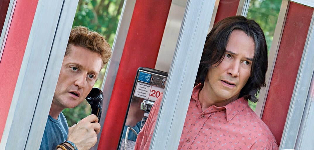 'Bill and Ted Face the Music' may have some people worried, but we're betting Bill and Ted can write the song to unite our world. Also it'll make us laugh.