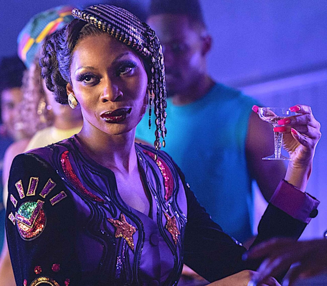 Cast member Elektra is the drag mother of all drag mothers, serving stunning looks in every episode of 'Pose'. Here are a few favorite lewks.