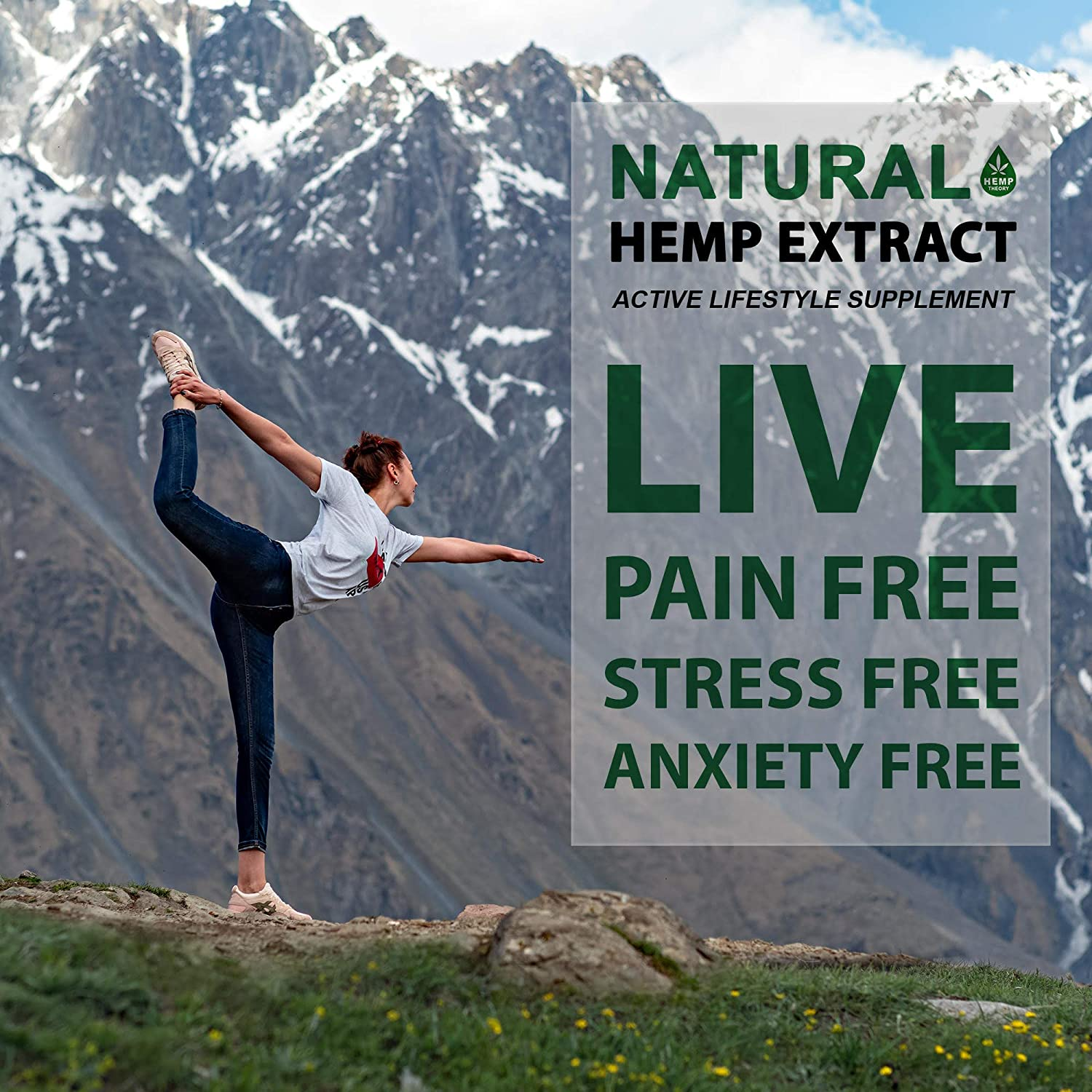 In a stressful world, it's natural to need some more than just a good cup of tea. Hemp Theory is great to help you calm your nerves and anxiety.