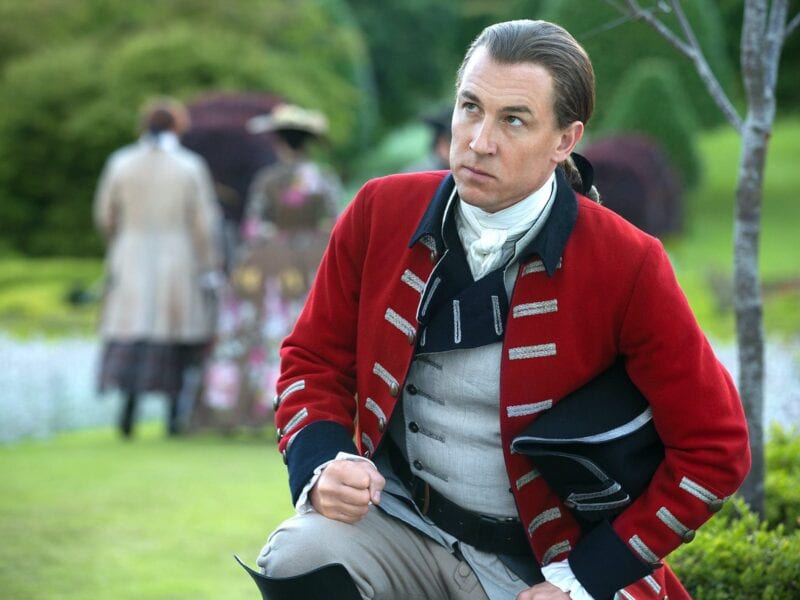 Fans of 'Outlander' likely feel their blood boil just hearing the name Captain Black Jack Randall. Here's why he's the worst villain to exist.
