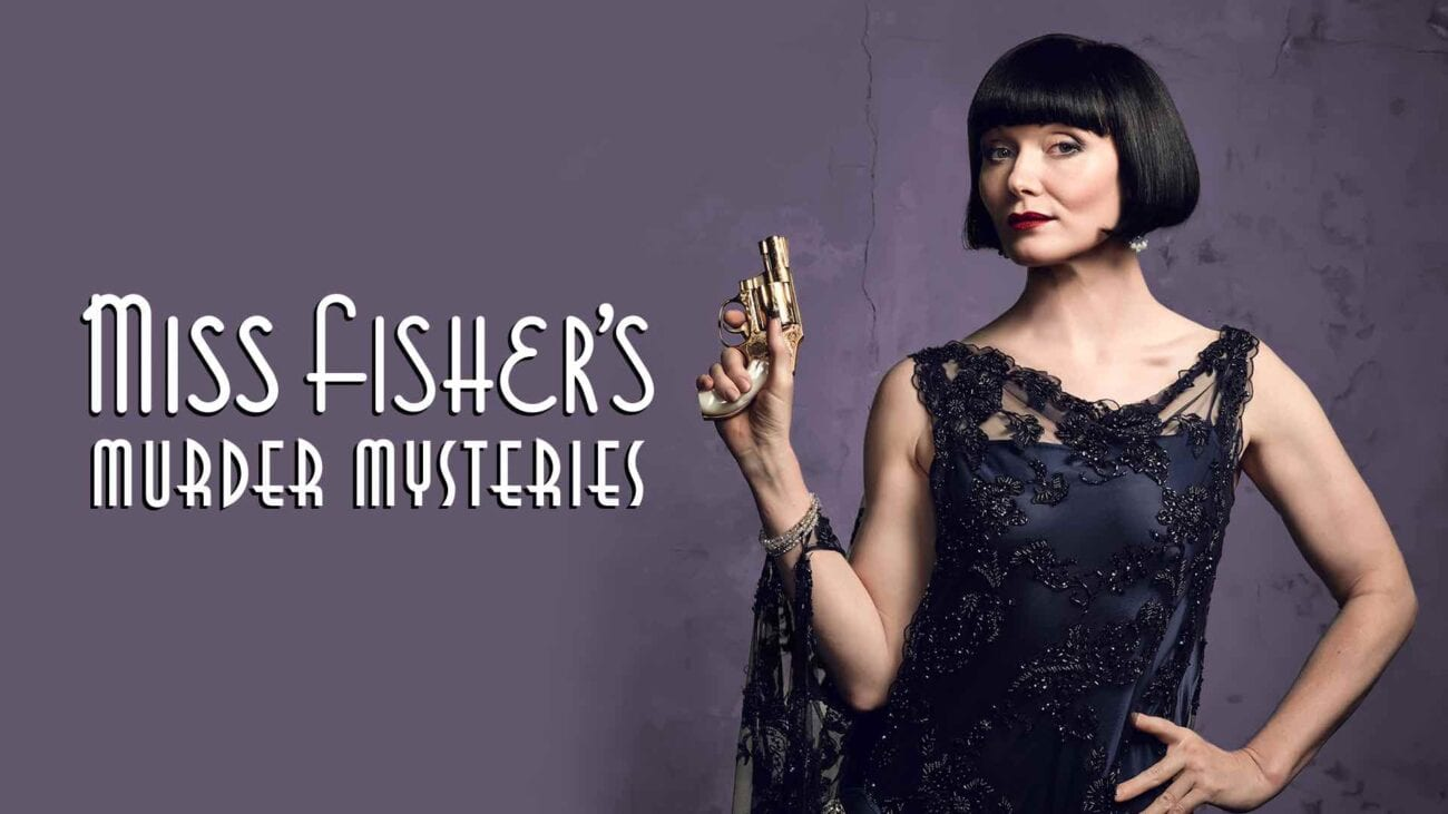 'Miss Fisher's Murder Mysteries' is sexy, fun, and Australian. You absolutely must binge this show as soon as possible.