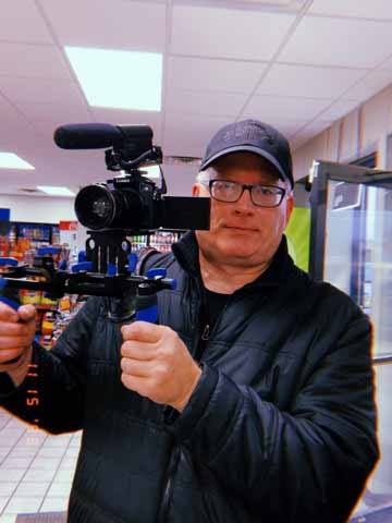 Paul Brenno always had a passion for camera work, and spent his career working with cameras and storytelling. Now, he's taking on COVID-19 in his new doc.