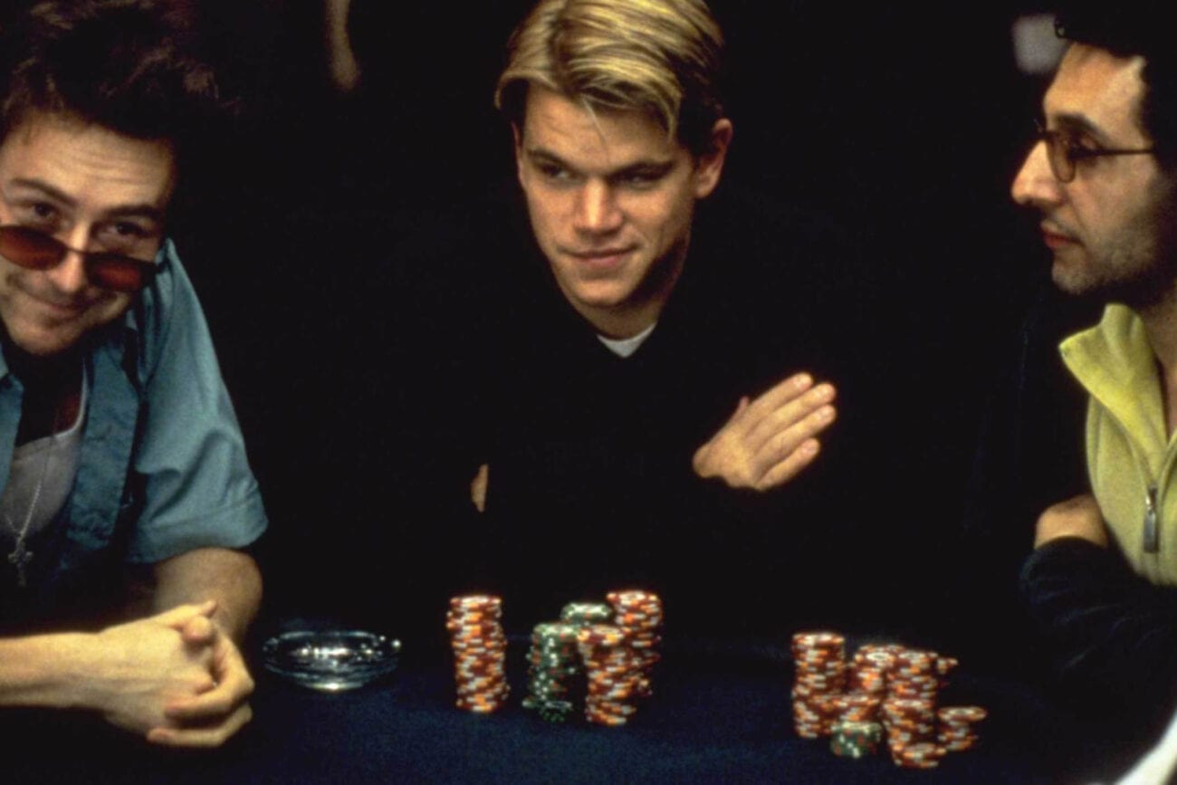 The thrill of a good poker game is what we all need, but sometimes we just can't make it happen. Instead, we can watch these top poker scenes in film.