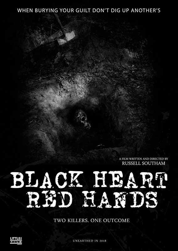 Director Russell Southam is finally taking control after producing for years. His first project, 'Black Heart, Red Hands' proves he has what it takes.
