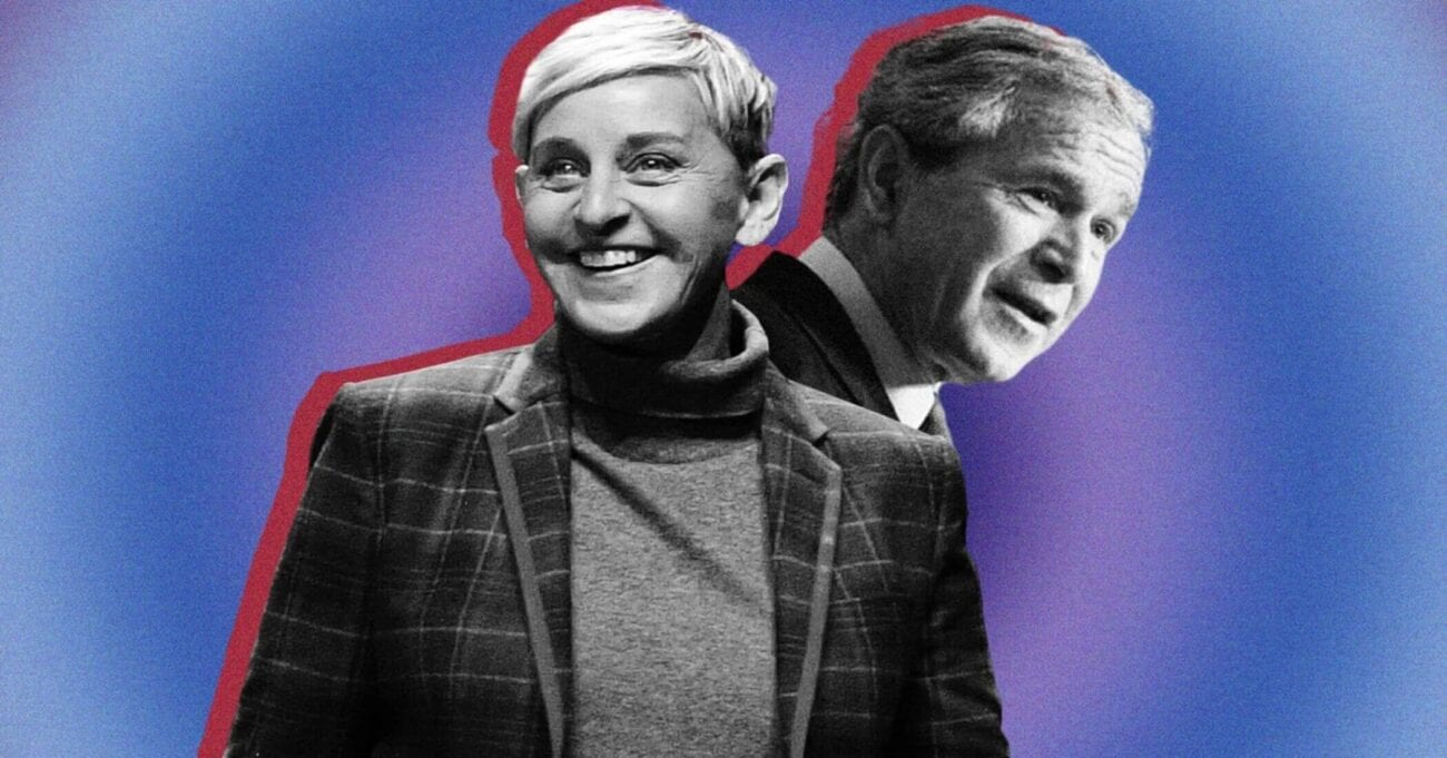 If anything surprises us about Ellen DeGeneres it's that she's friends with former U.S. president George Bush. Here's what we know.