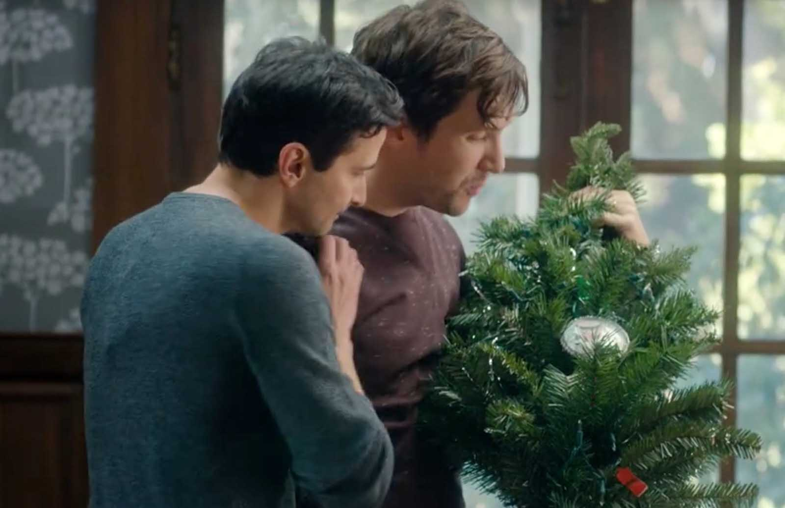 Paul Schneider and Alicia Schneider are trying to be the change they want to see as they are Kickstarting a gay Christmas movie that could rival Hallmark.