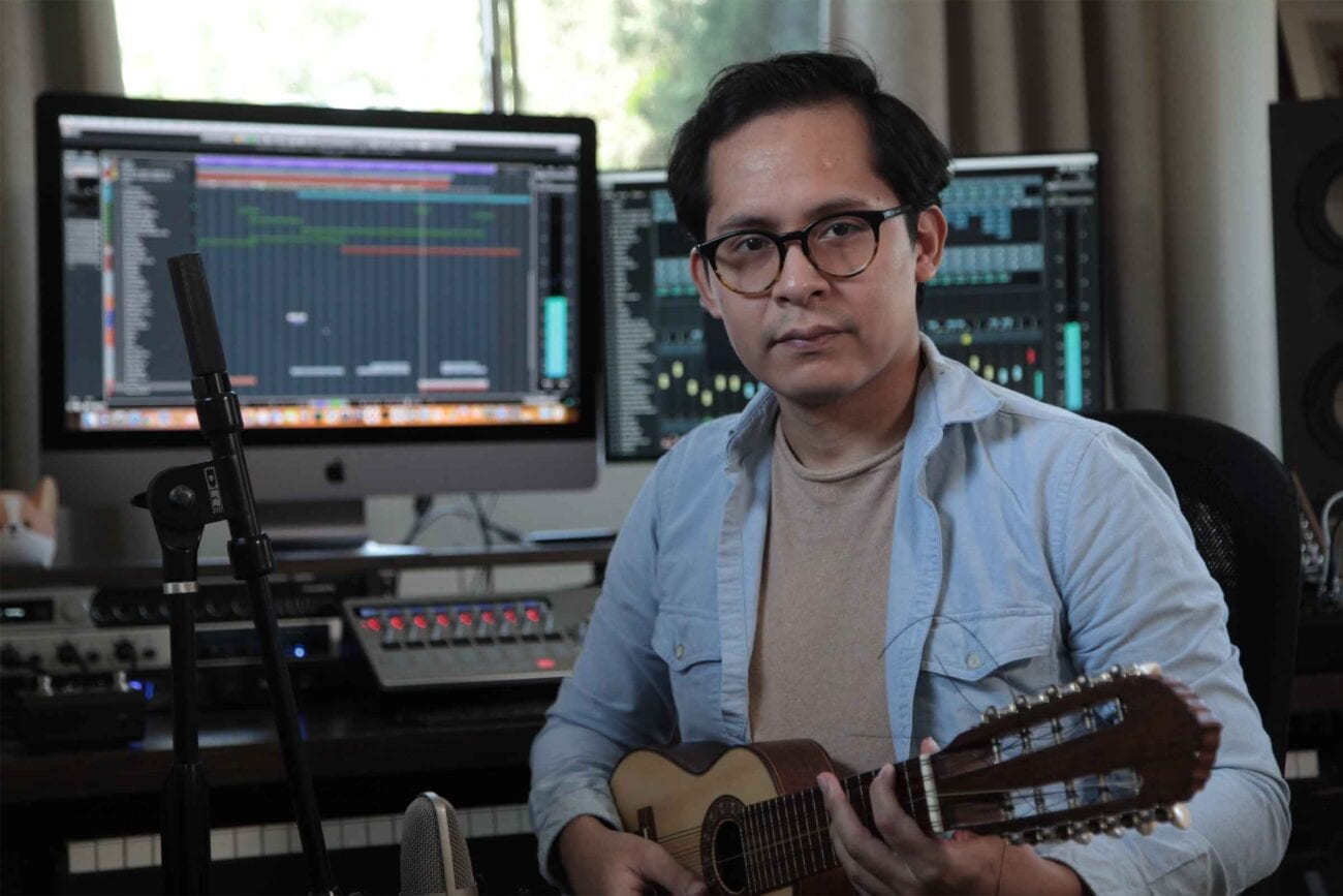 Alvaro Balvin Benavides is a composer who was born in Lima, Peru. His music is defined by symphonic orchestra, synthesizers, and South American instruments.