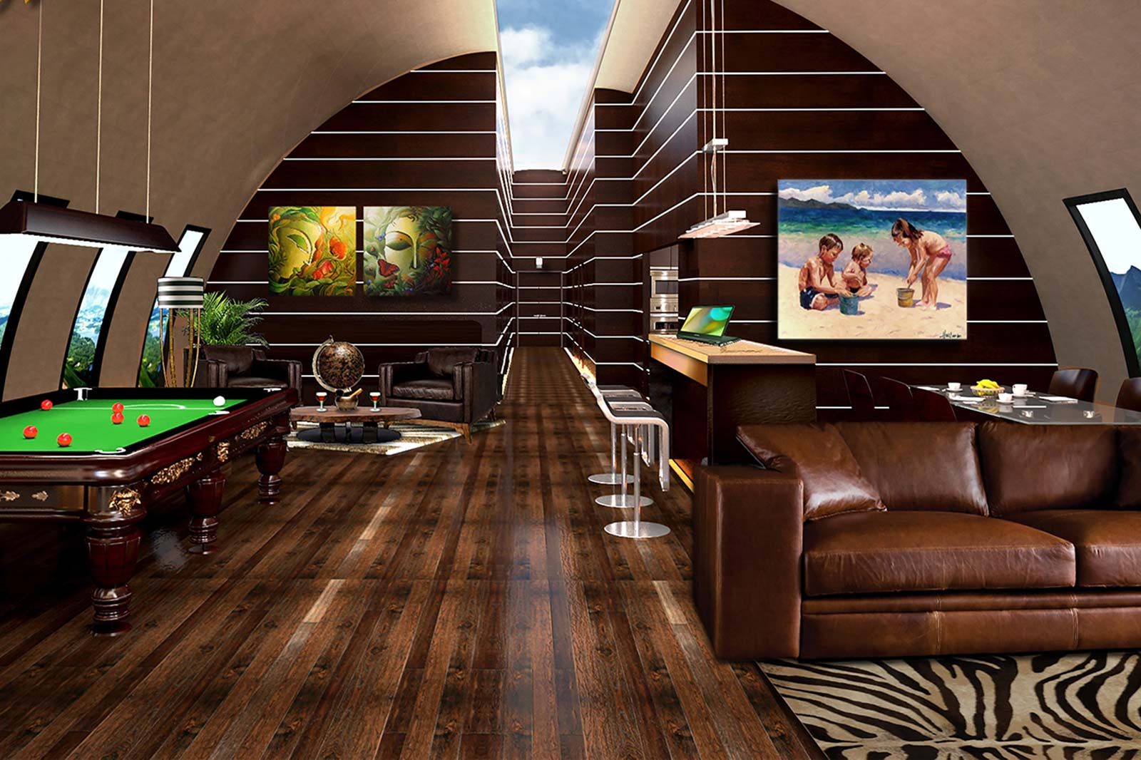 Rich People And The Apocalypse Their Stylish Doomsday Bunkers