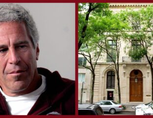 Jeffrey Epstein's NYC and Florida properties are up for sale to the public. Here's a look inside at those disturbing paintings.