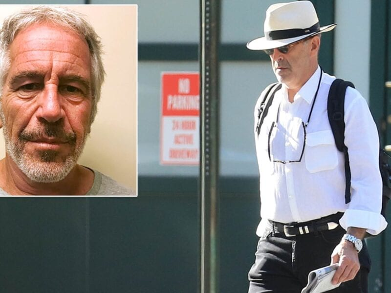 While there's only one living immediate relative of Jeffrey Epstein, it's clear that his family still has his back even in death.
