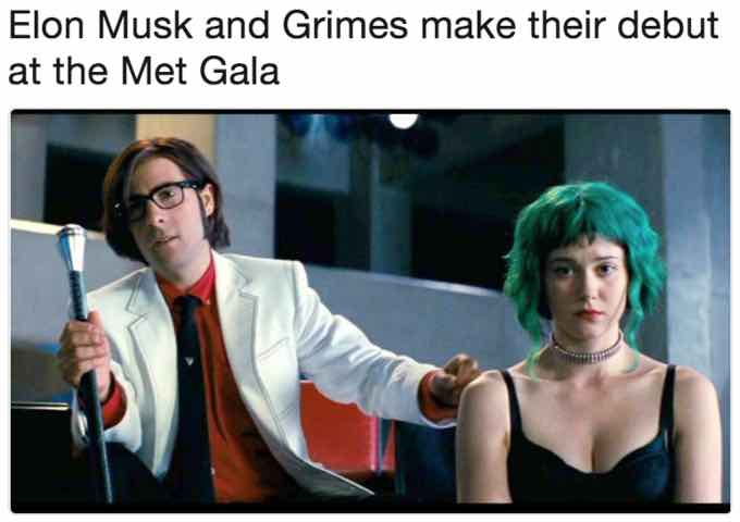 Elon Musk And Grimes The Best Memes About Their Odd Relationship Film Daily