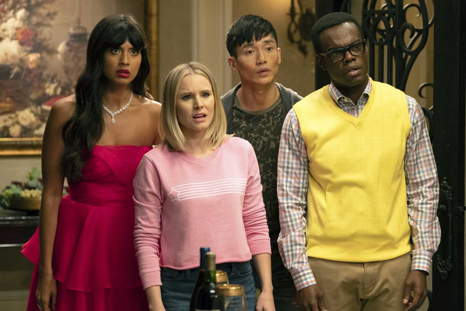 """2020 is a mess ya'll, and we're hoping our dear """"Soul Squad"""" can save us all. Mainly, the squad that helped save the world in 'The Good Place' season 3."""