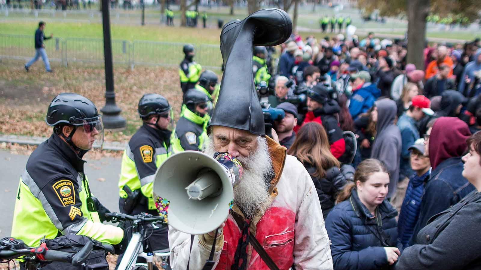 If you think Kanye is a strange candidate, wait until you meet Vermin Supreme, who's run for president every year since 1992.
