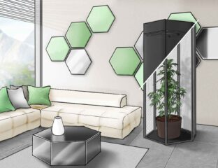 A creative couple decided to do a little DIY and ended up desiging an easy way for people to cultivate cannabis at home.