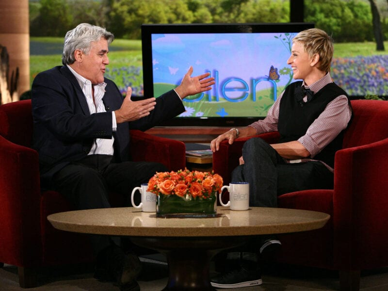 Jay Leno came to the defense of daytime talk show host Ellen Degeneres amid allegations. What about Leno's net worth? Let's take a look.